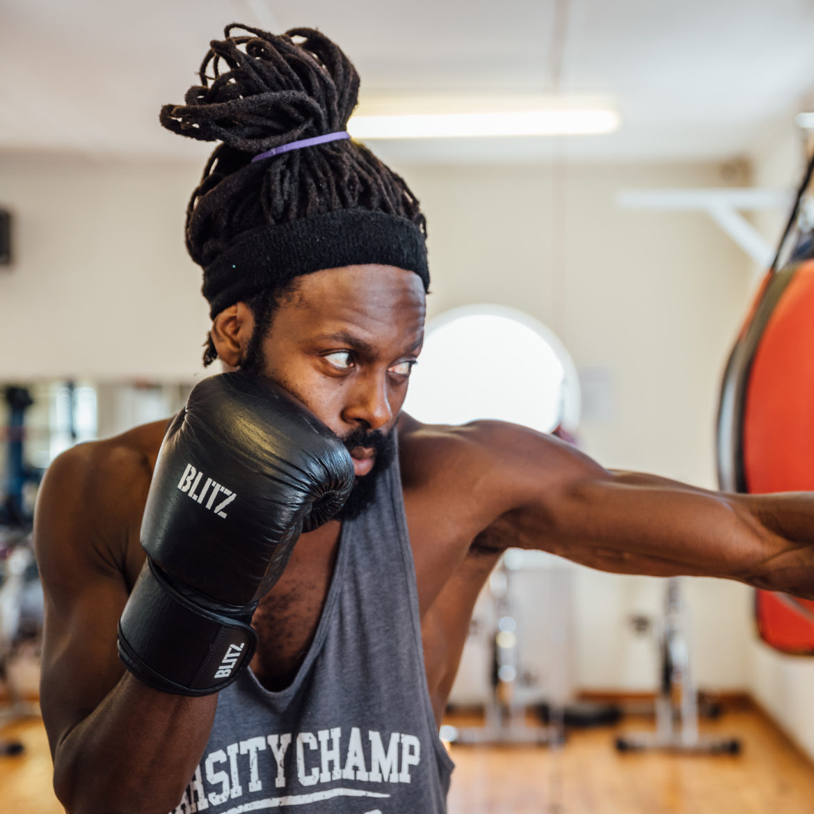 Throwing a punch with a cause with Mojo Boxing & Fitness