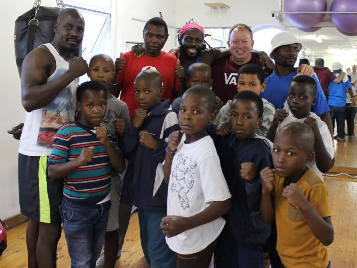 LOCAL BOXING GYM RAISES FUNDS TO FEED LESS FORTUNATE CHILDREN